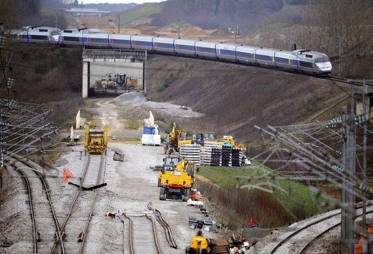 bbv lgv 187 archives du 187 le chantier de constrution de la ligne 224 grande vitesse